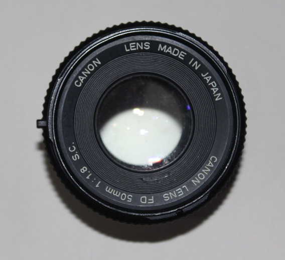 Canon Lentes Fd 135-3.5 Sc/ Fd 50-1.8 Originais 38263540