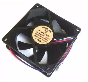 Cooler Nework 12v 80x80x25 Mm 5000 Rpm Cód. 14.204hh Nova *