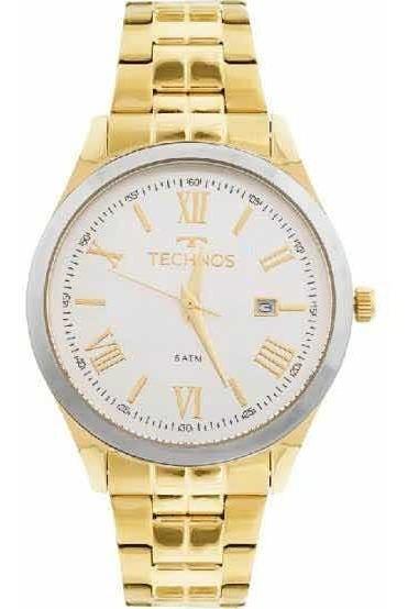 Relógio Technos Feminino Dourado 2115mgm/4k