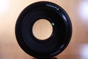 Lente Yongnuo 50mm 1.8 Canon