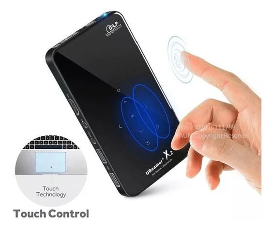 Mini Projetor X2, Wi-fi Android Touch 2 Gb Ram 8gb Memória