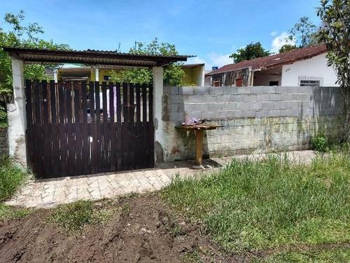 Casa Com 06 Cômodos Em Itanhaém - 4834 | Sanm