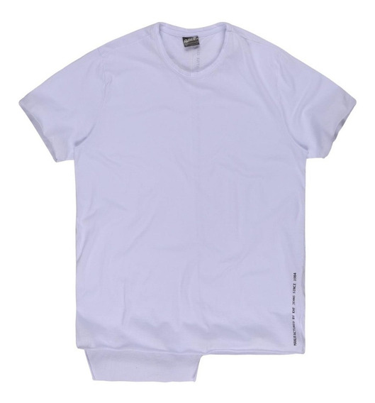 Camiseta Masculina Assimétrica