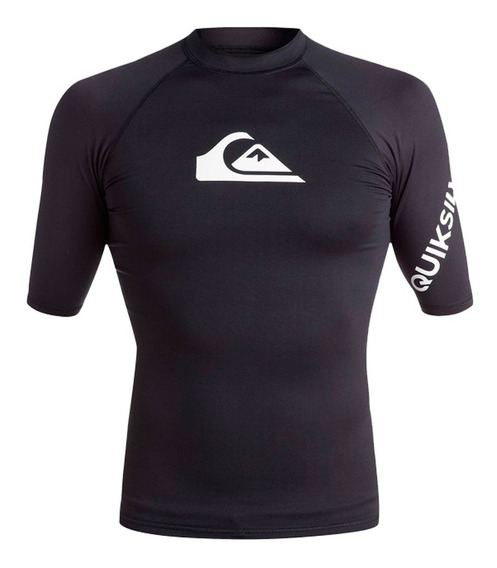Playera Deportiva Para Surf Ajustable Negro Quiksilver