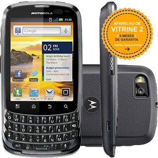 Nextel Master Motorola Xt605 Single 3g 5mp Cinza Vitrine 2