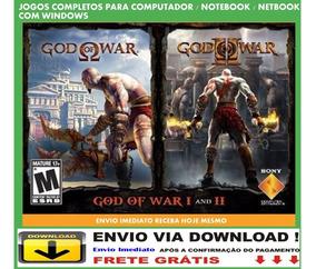 God Of War 1 E 2 Pc Envio Digital Grátis
