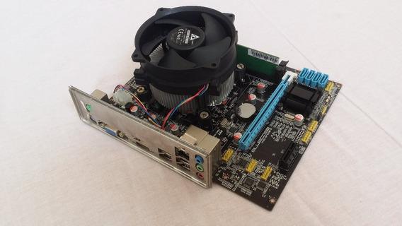 Kit Core I5-3470 Placa Mãe Processador 1155 H61 8 Gb Ddr3