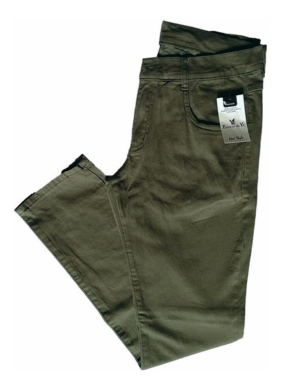 Calça Jeans Sarja Masculina Skinny Perfeita Coloridas