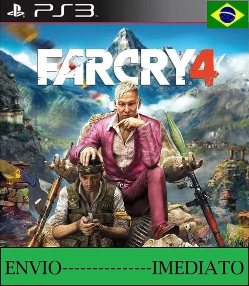Far Cry 4 Ps3 - Mídia Digital Dublado Em Ptbr Envio 2 Min