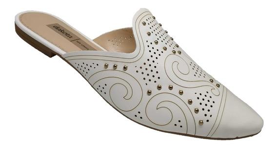 Sapato Feminino Mule Dakota Florencia Branco G1052