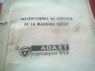 Adast Roamyor 513 Manual De Servicio