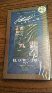 Cantinflas El Patrullero 777 Pelicula Vhs