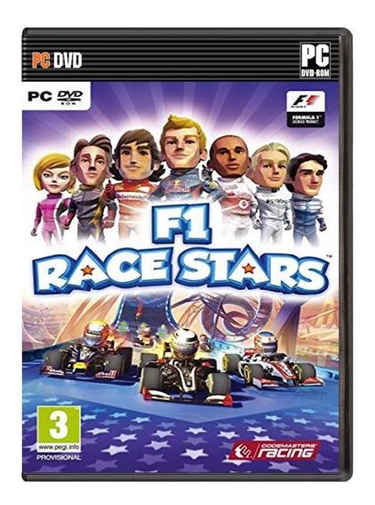 F1 Race Stars - Pc - Mídia Física E Lacrada