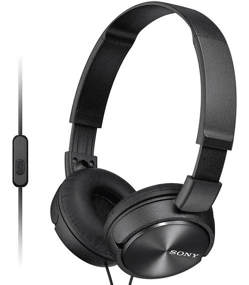 Fone De Ouvido Sony Mdr-zx310 Headphone Microfone Integrado