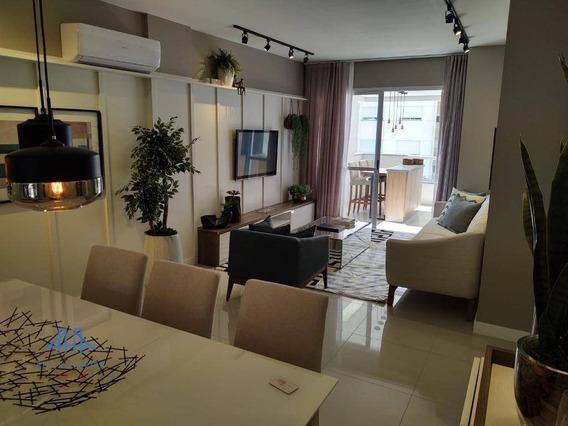 Apartamento Com 4 Dormitórios À Venda, 125 M² Por R$ 1.223.800,00 - Parque São Jorge - Florianópolis/sc - Ap2888