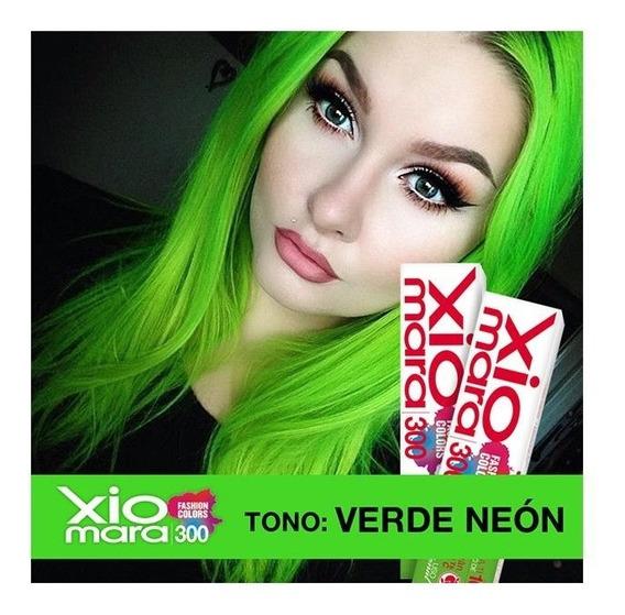 2 Cajillas Tono Verde Neon X300fc