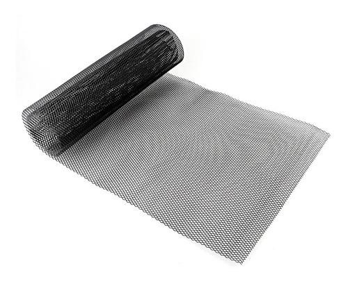 KIMISS Rejilla de coche rejilla de aleaci/ón de aluminio de 3x6 mm Rejilla de coche Malla Hoja Rejilla Cuerpo Parachoques R/ómbico Parrilla