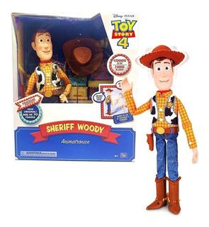Toy Story 4 Woody Interactivo Se Cae Y Habla 70 Frases Off!