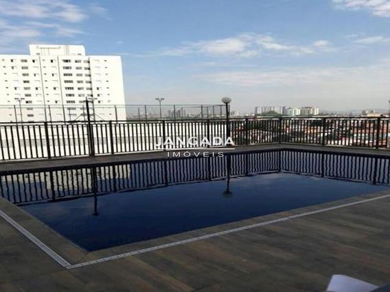 Apartamento 02 Dormitorios Com Sala Estendida E 01 Vaga De Garagem - 11296