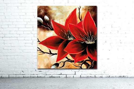 Hermoso! Mural 73x78cm Cuadro Flores Cocina Decoración Casa Diseño Personalizado