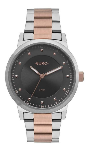 Relógio Feminino Euro Analógico Bicolor Trendy Eu2036ynt/5c