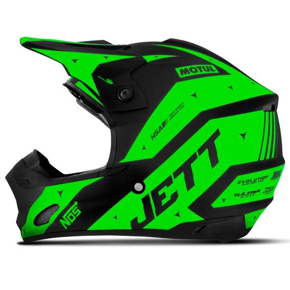 Capacete Motocross Feminino Pro Tork Jett Evolution 2