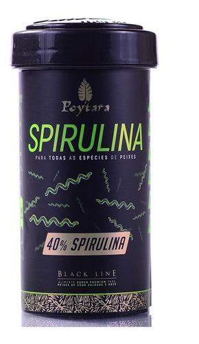 Imagem 1 de 1 de Poytara Black Line - Spirulina 40%  45g