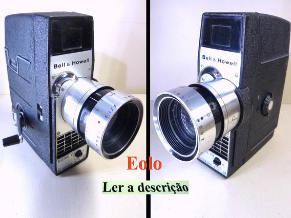 Filmadora Bell & Howell Electric Eye Corda Rara, Boa !