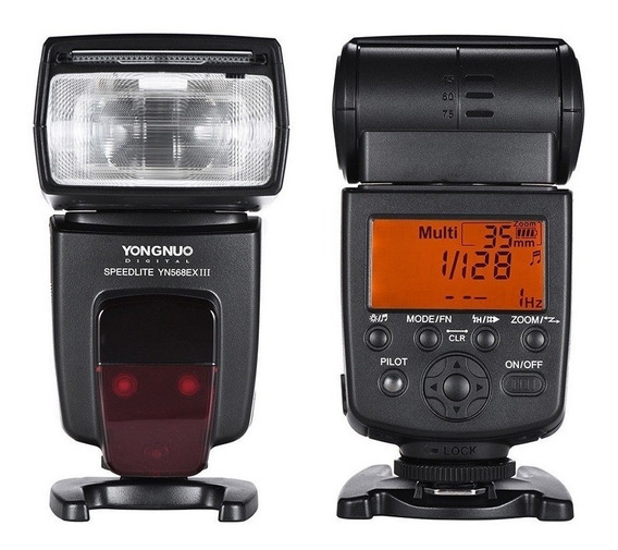 Flash Yongnuo Yn568ex Iii Para Canon Novo Modelo Nota Fiscal
