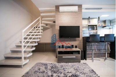 Lindo Apartamento Duplex Ao Lado Do Parque Ibirapuera - Ap0325
