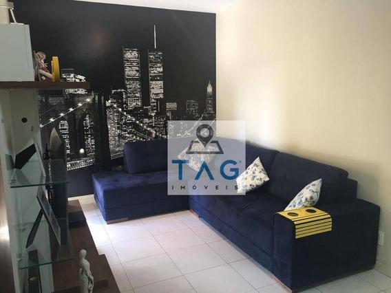 Apartamento Com 1 Dormitório À Venda, 56 M² Por R$ 350.000 - Cambuí - Campinas/sp - Ap0708