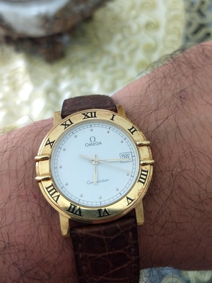Relogio De Ouro Omega Constellation