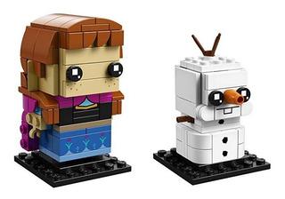 Lego Brickheadz Ana Y Olaf Frozen