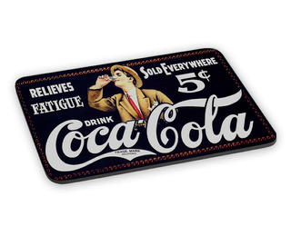 Mousepad Coca Cola Anúncio Antigo Propaganda Vintage Retrô