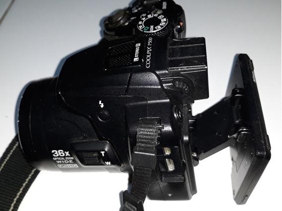Nikon P500 Com Defeito Não Liga