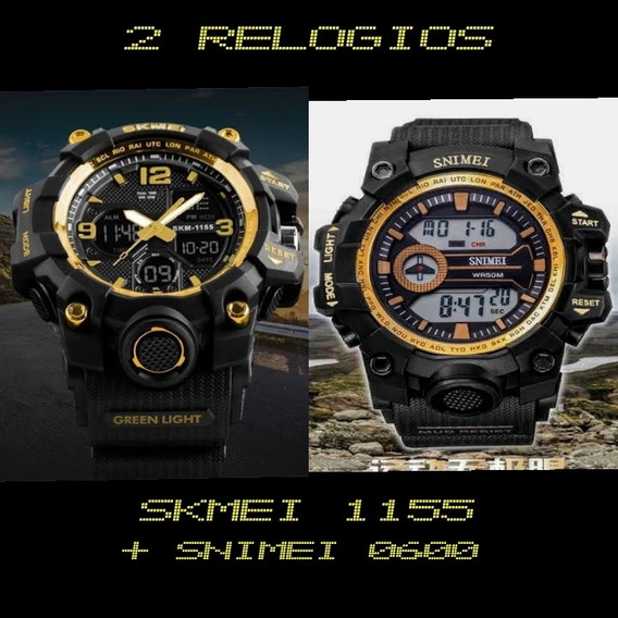 Kit 2 Relógio Digital Prova D