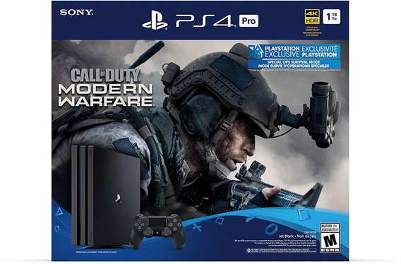 Play Station 4 Pro 1tb Call Of Duty Modern Warfare Sellado