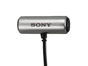 Microfone Lapela Sony Ecm-cs3 P/ Gravador Zoom Tascam Sony