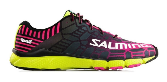 Zapatillas Salming Speed 6 Mujer Running Reflectantes