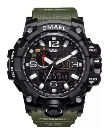Relógio Militar Masculino Esportivo Digital Smael