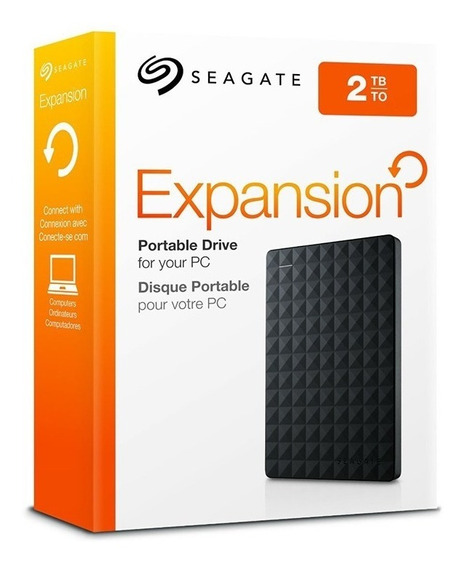 Hd Externo Seagate 2tb Portatil Original 12x S/ Juros