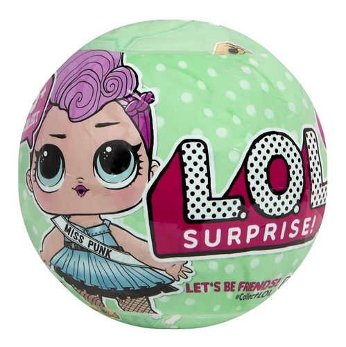 Lote C/2 Boneca Lol 7 Surpresas Surprise Miss Punk Bonellihq