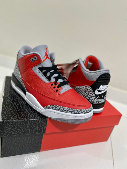 Air Jordan 3 red-cement