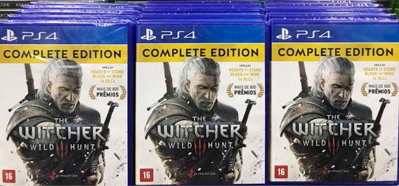 The Witcher 3 Wild Hunt Complete Edition + Dlc Mídia Física