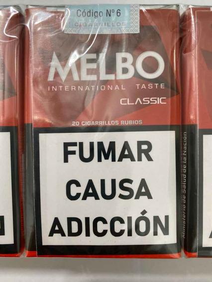 Cigarrillos Melbo Classic Pack Por 10 Atados