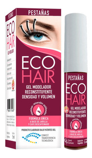 Eco Hair Gel Modelador Para Pestañas Engrosador 5ml