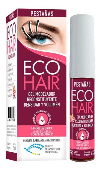Eco Hair Gel Modelador Para Pestañas Engrosador 5ml