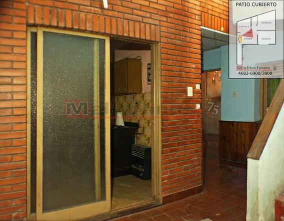 Venta Departamento Tipo Casa 3 Ambientes En Parque Avellaneda