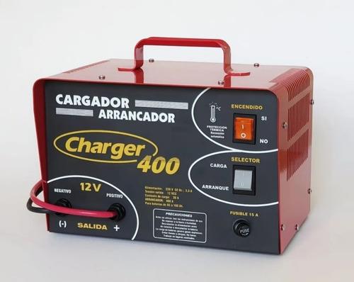 Cargador Arrancador Bateria 12 Volts Charger 400 P/ Gasolero