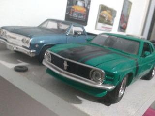 Carros Miniatura 1/24 El Camino, Mustang Ou Santana